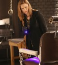 Emily Deschanel as Brennan. Co.  Cr:  Patrick McElhenney/FOX