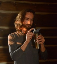 Ichabod (Tom Mison) tries Yoga. Co. CR: Fred Norris/FOX