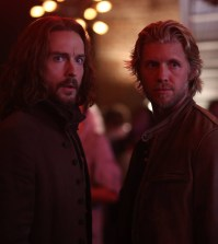 chabod (Tom Mison, L) and Nick (guest star Matt Barr, R) look for a suspect. Co. CR: Fred Norris/FOX