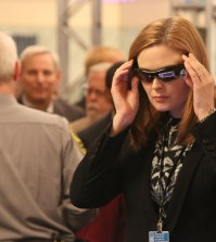 Brennan (Emily Deschanel) attends a forensic science convention. Co.  Cr:  Patrick McElhenney/FOX