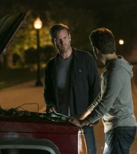 Pictured (L-R): Matt Davis as Alaric and Paul Wesley as Stefan — Photo: Tina Rowden/The CW