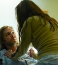 Pictured: (l-r) Aaron Stanford as Cole, Emily Hampshire as Jennifer -- (Photo by: Ken Woroner/Syfy)
