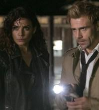 Pictured: Anjelica Celaya as Zed, Matt Ryan as Constantine -- (Photo by: Tina Rowden/NBC)