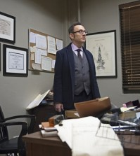 Michael Emerson as Harold Finch. Image © CBS