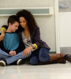 Credit: ABC Family/Eric McCandless -- Pictured:   HAYDEN BYERLY, SHERRI SAUM