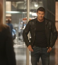 David Boreanaz as Booth | Co.  Cr:  Jordin Althaus/FOX
