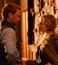 Pictured: (l-r) Grant Bowler as Joshua Nolan Julie Benz as Amanda Rosewater -- (Photo by: Ben Mark Holzberg/Syfy)