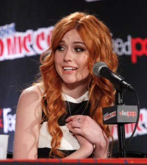 (ABC Family/Lou Rocco) KATHERINE MCNAMARA NEW YORK COMIC CON OCT. 10 2015