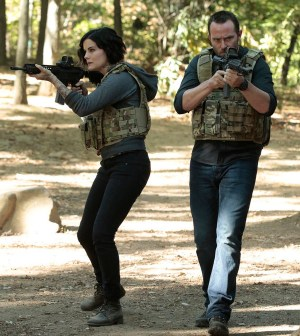 Pictured: (l-r) Jaimie Alexander as Jane Doe, Sullivan Stapleton as Kurt Weller -- (Photo by: Giovanni Rufino/NBC)
