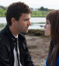 Pictured: (l-r) Lucas Bryant as Nathan Wuornos, Emily Rose as Lucy -- (Photo by: Mike Tompkins/Syfy)