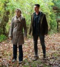 Pictured: (l-r) Emily Rose as Audrey Parker, Eric Balfour as Duke Crocker -- (Photo by: Mike Tompkins/Syfy)