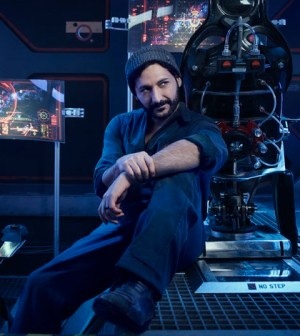 THE EXPANSE -- Season:1 -- Pictured: Cas Anvar as Alex Kamal -- (Photo by: Jason Bell/Syfy)