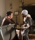 Idara Victor as Abigail, Heather Lind as Anna Strong.Photo Credit: Antony Platt/AMC
