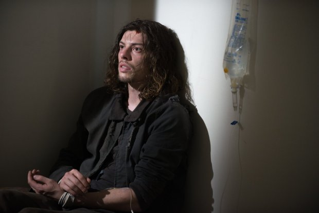 Benedict Samuel as 'The Wolf' in AMC's THE WALKING DEAD. Photo Gene Page | AMC