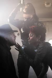 GOTHAM: L-R: Donal Logue and guest star Jada Pinkett Smith   Co. Cr: Jeff Neumann/FOX.