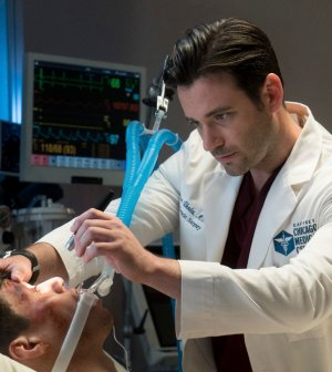 Episode 205 -- Pictured: (l-r) Steve Casillas as Ignacio, Colin Donnell as Connor Rhodes -- (Photo by: Elizabeth Sisson/NBC)