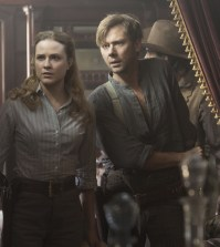 Evan Rachel Wood as Dolores and Jimmi Simpson as William. Photo © John P. Johnson/HBO