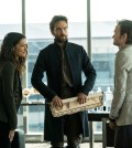 "SLEEPY HOLLOW: (L-R) Janina Gavankar, Tom Mison and Jeremy Davies in the ""Heads of State"" episode of SLEEPY HOLLOW 