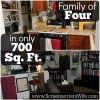 How Our Family of 4 Lives Happily In a 700 Sq. Ft. & Small Home Ideas