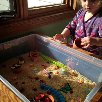 Mommy Mondays: Spring Sensory Play