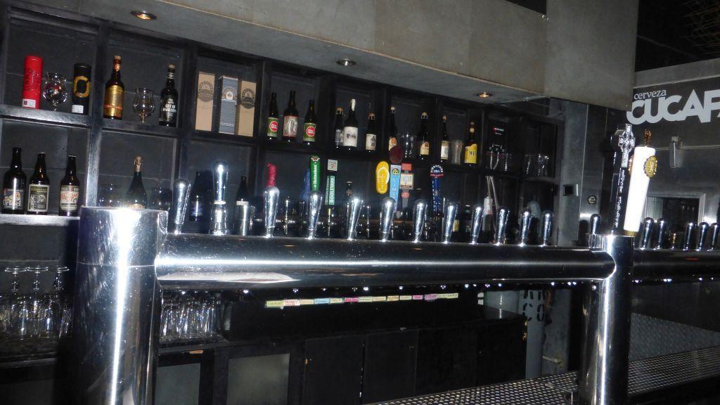 Large selection of taps at BCB Tasting Room.