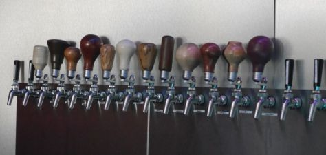 Some interesting tap handles.