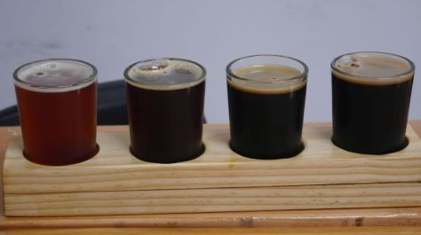 Reckless Brewing Flight 03