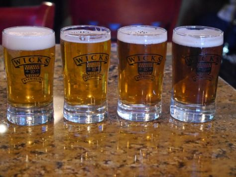 First flight of beers.