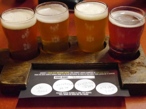 Main flight at Cigar City.
