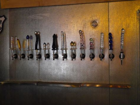 Yes those are their tap handles.