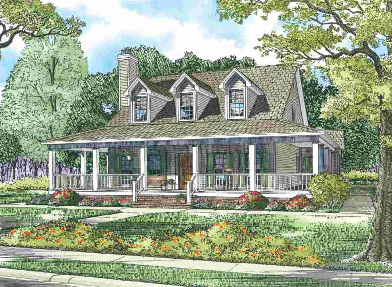 Large Of House With Wrap Around Porch