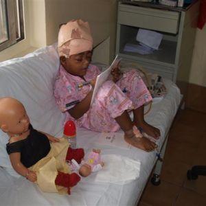 vasentha in het ziekenhuis