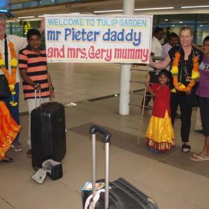 Welkom aan Pieter en Gery