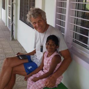 Samen op 't bankje met Vasentha