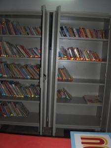 de nieuwe boekenkast