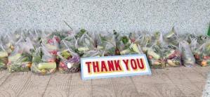 dank voor alle giften uit Nederland