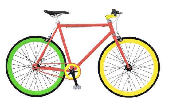 Urbike bike design