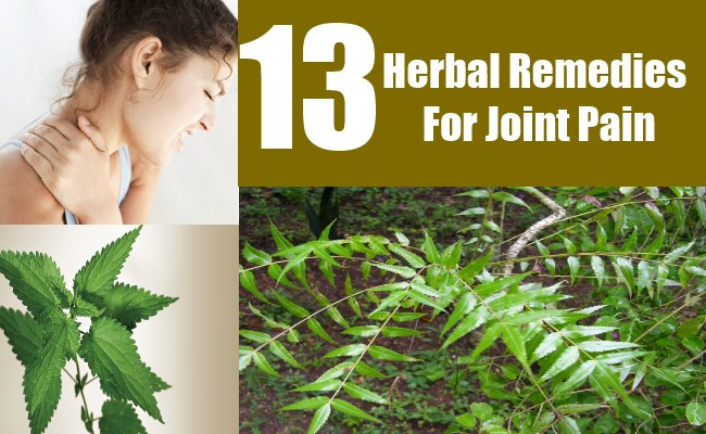13 Herbal Remedies For Joint Pain