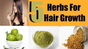 5 Herbs For Hair Growth