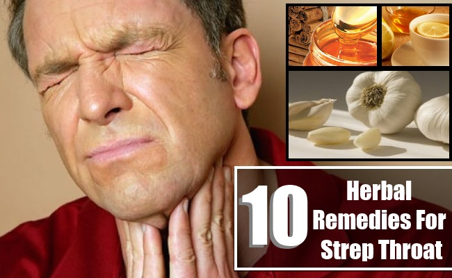 Herbal Remedies For Strep Throat