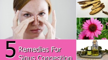 Remedies For Sinus Congestion
