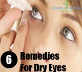 6 Remedies For Dry Eyes