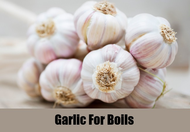 Garlic For Boils