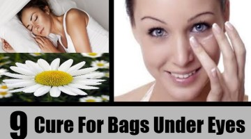 9 Cure For Bags Under Eyes
