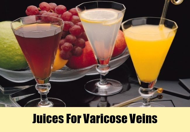 Juices For Varicose Veins