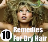 10 Remedies for Dry Hair