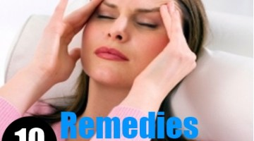 10 Remedies For Dizziness