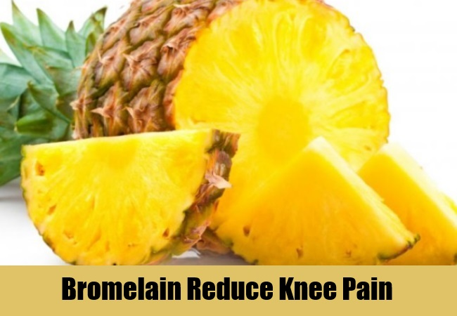 Bromelain Reduce Knee Pain