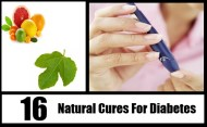 Top 16 Natural Cures For Diabetes
