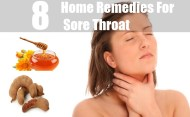 8 Home Remedies For Sore Throat